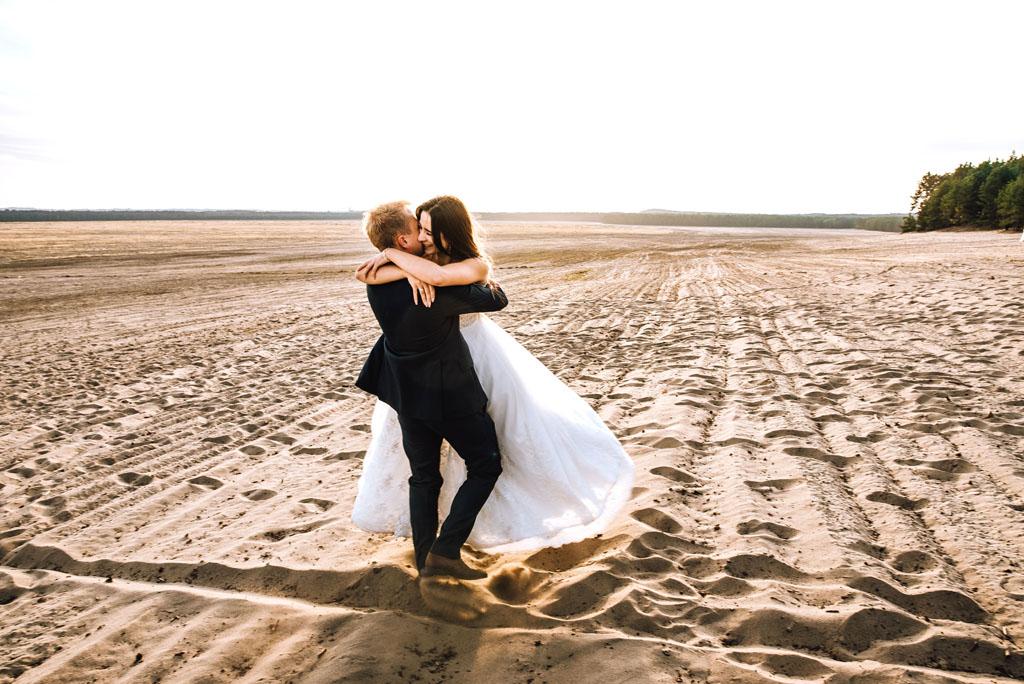 Sesja ślubna Pustynia Błędowska