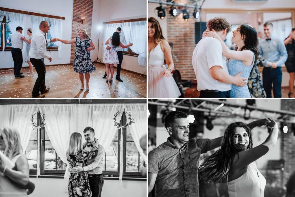 Sala weselna w Żmiącej przy Młynie -  Ujanowice - goście weselni