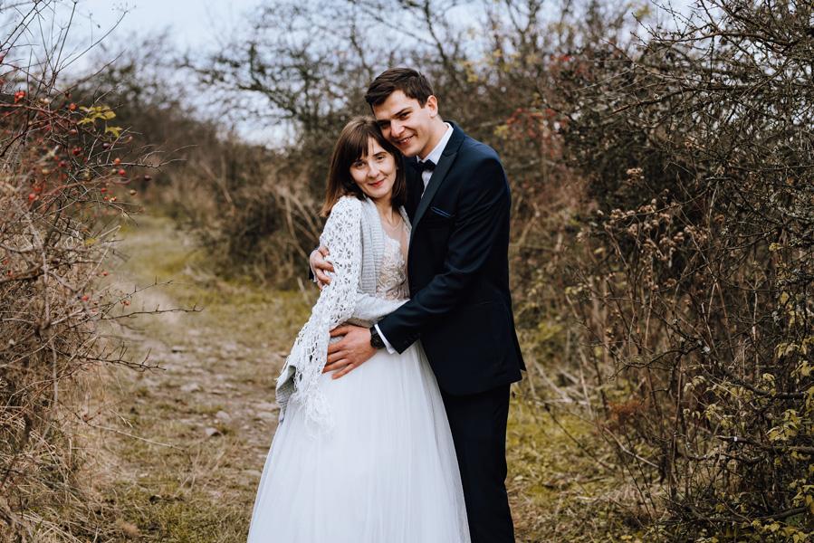Sesja ślubna jesień Magda i Michał
