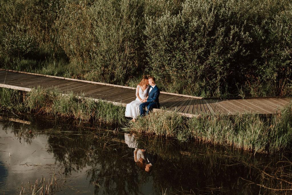 Bobrowisko przy Starym Sączu to miejsce na plener ślubny