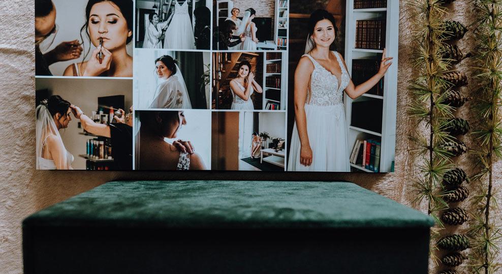 Album zdjęcia ślubne