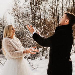 ślub zima