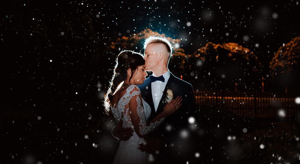 Zdjęcia ślubne nocne