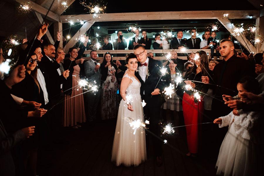 Zimnie ognie wesele