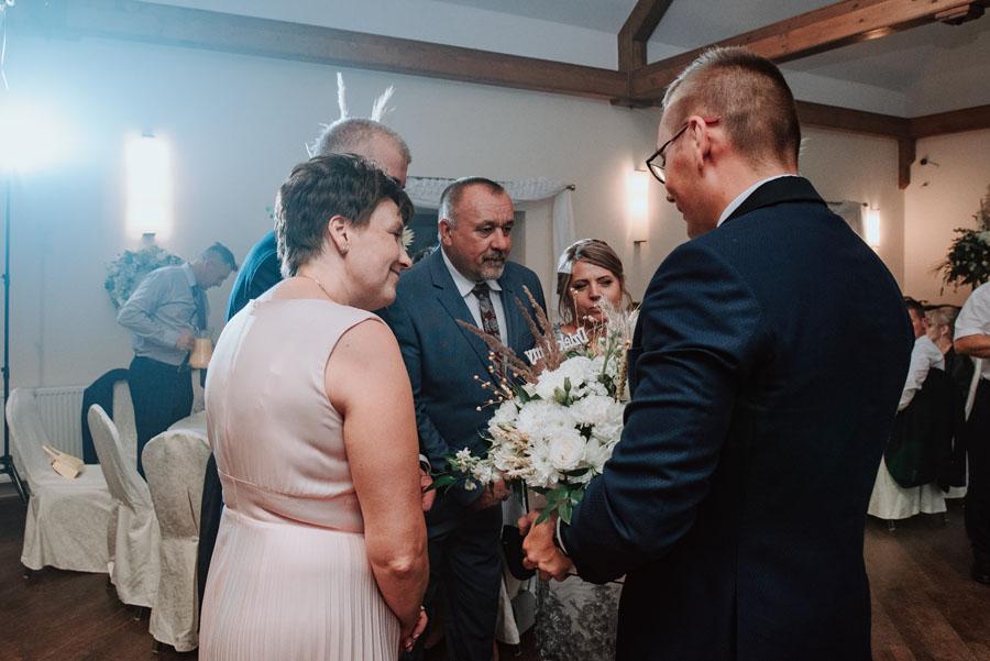 Podziękowanie mamie i tacie ślub
