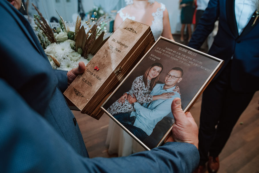Prezent dla rodziców ślub