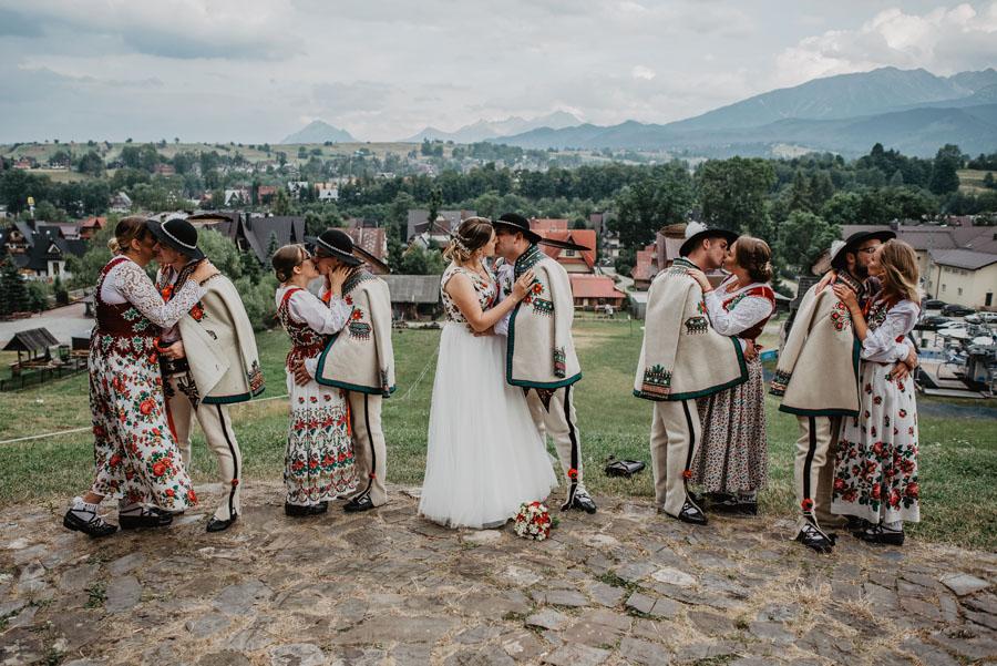 Zdjęcie grupowe wesele
