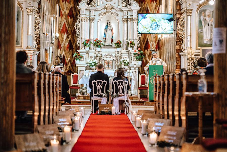 ślub jednostronny w kościele Katolickim