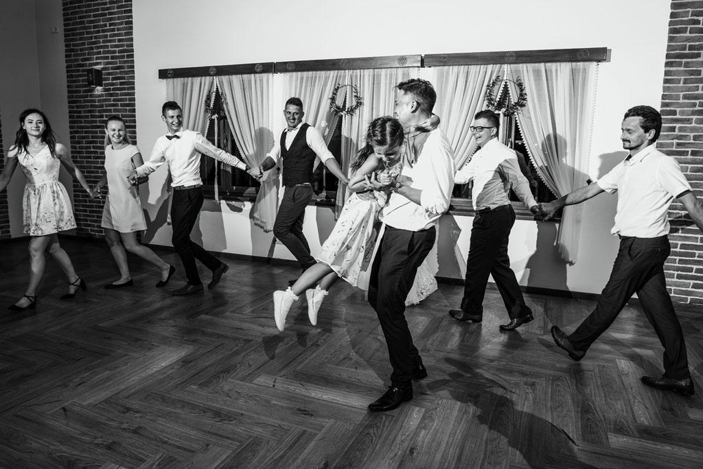 Sala weselna w Żmiącej przy Młynie -  Ujanowice oczepiny