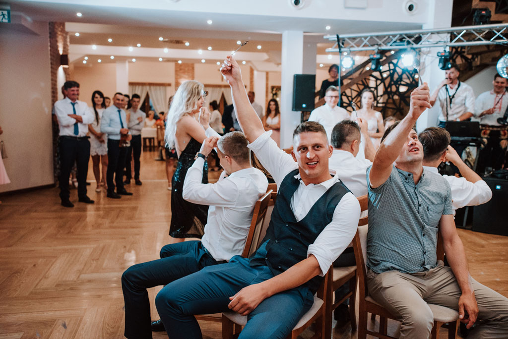 Sala weselna w Żmiącej przy Młynie -  Ujanowice - zabawa weselna