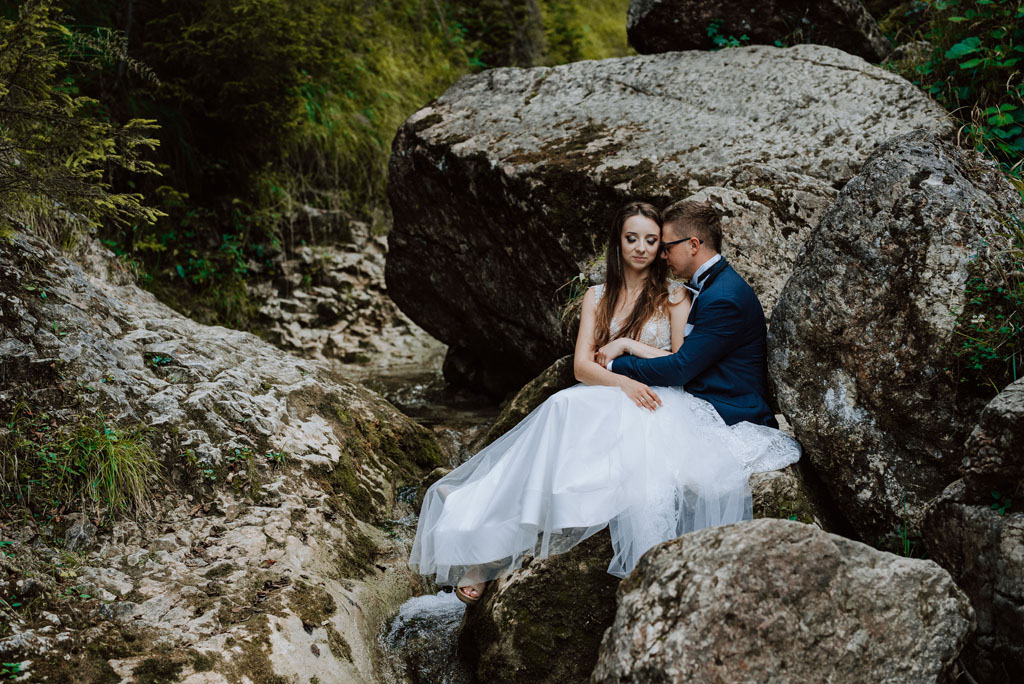 sesja ślubna z nowego sącza do jaworek
